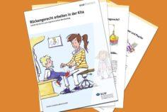 Neue BGW Broschüre: Rückengerecht in der Kita arbeiten