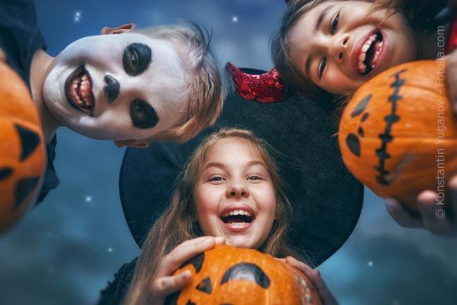 Halloween in der Kita feiern – Tipps und Rezepte