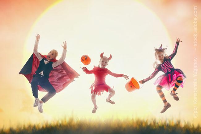 Halloween in der Kita feiern